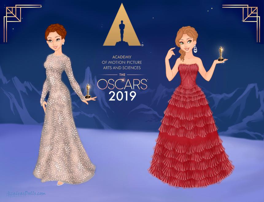 Fashion Challenge - Round 2 - Oscars 2019 by Arrelline