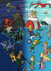 Wind Waker: Choose Your Side by Icy-Snowflakes