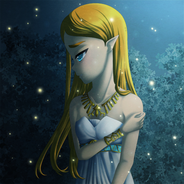 Breath Of The Wild Princess Zelda By Icy Snowflakes On