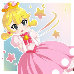 Peachette by Icy-Snowflakes