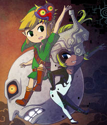 A Zelda Halloween 2018 by Icy-Snowflakes