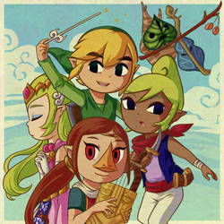 TLoZ: The Wind Waker +SpeedPaint