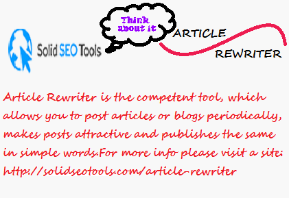 Free article rewriter and spinner