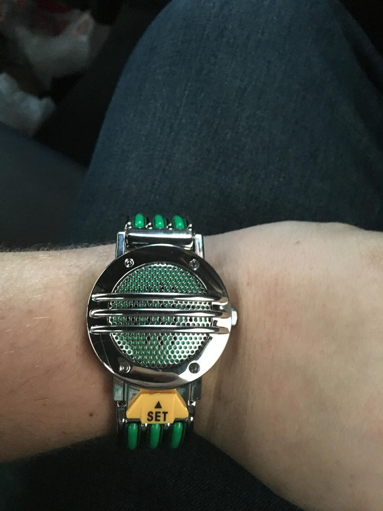 Legacy Tommy Oliver Communicator Green Ranger by