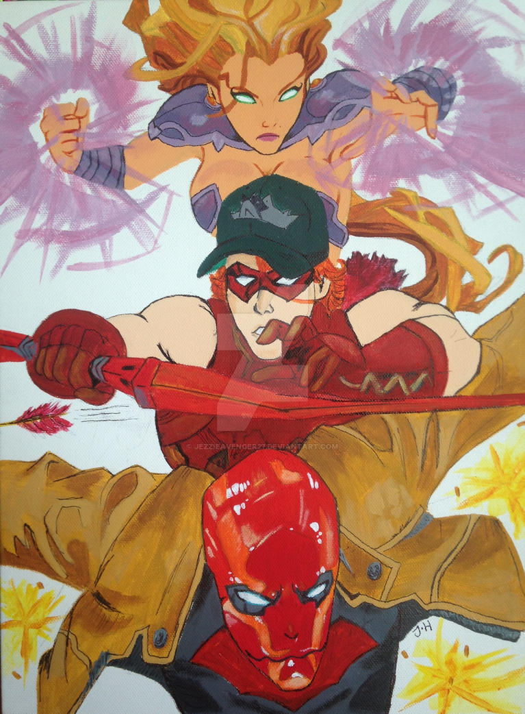 Red Hood and the Outlaws by JezzieAvenger27