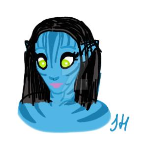 Avatar Practise by JezzieAvenger27