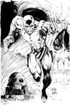 Phantom TPB Cover inks