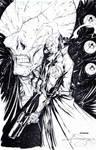 Hellboy Commission_inked