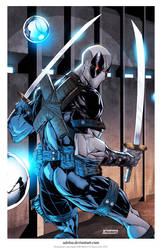 Uncanny XF Deadpool print... by adelsocorona