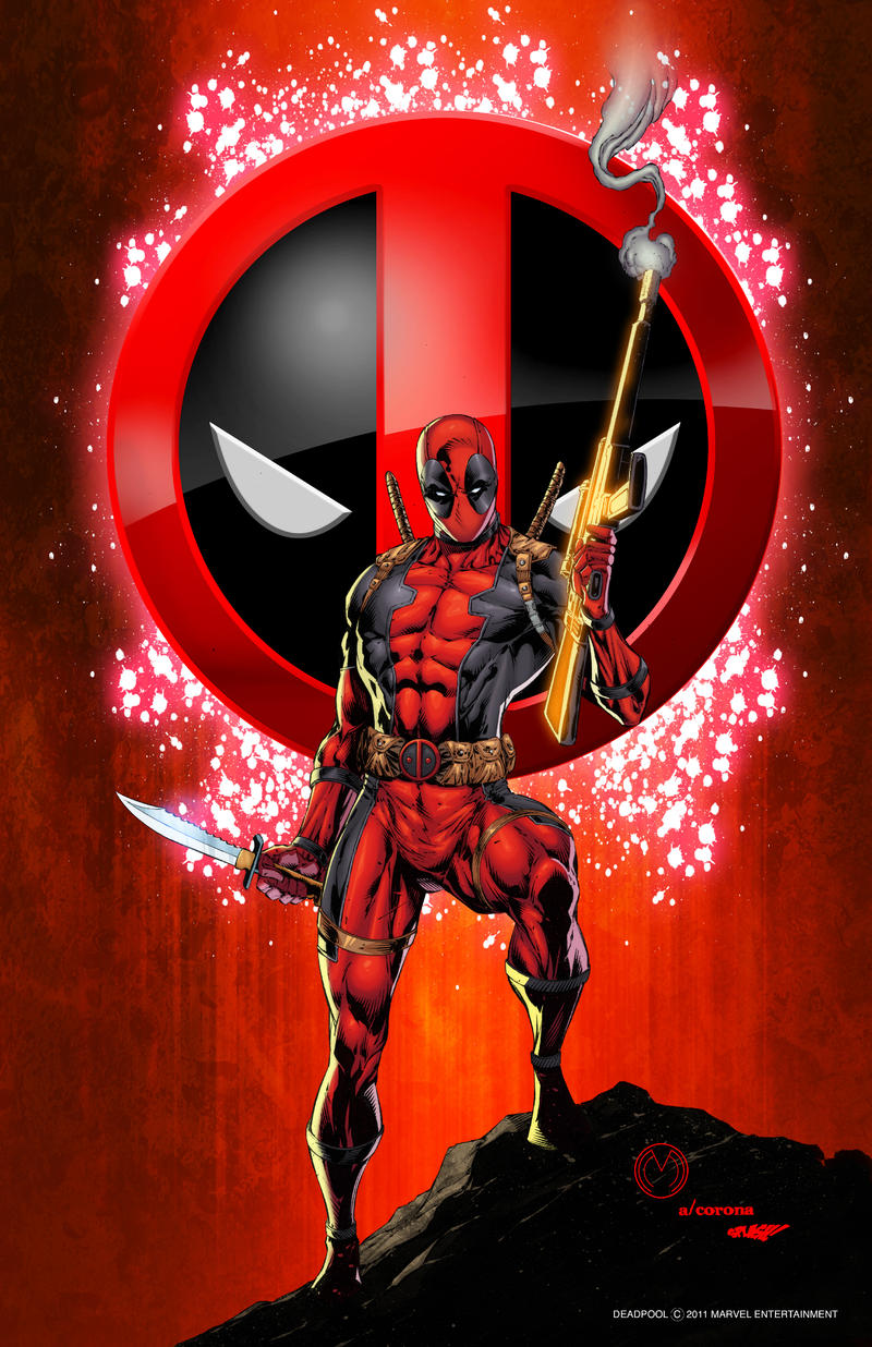 Deadpool Print 1 by adelsocorona