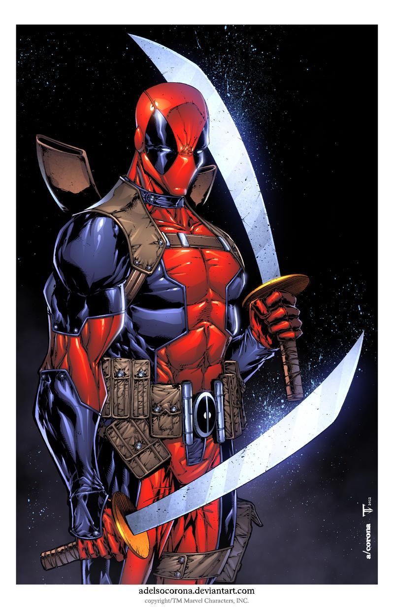 Deadpool Print 2 by adelsocorona