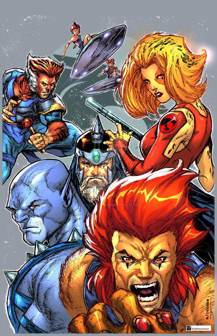 Thundercats!!!! by adelsocorona