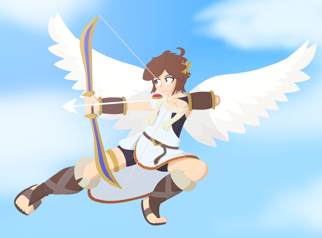 Pit Kid Icarus By Kytobitt On DeviantArt
