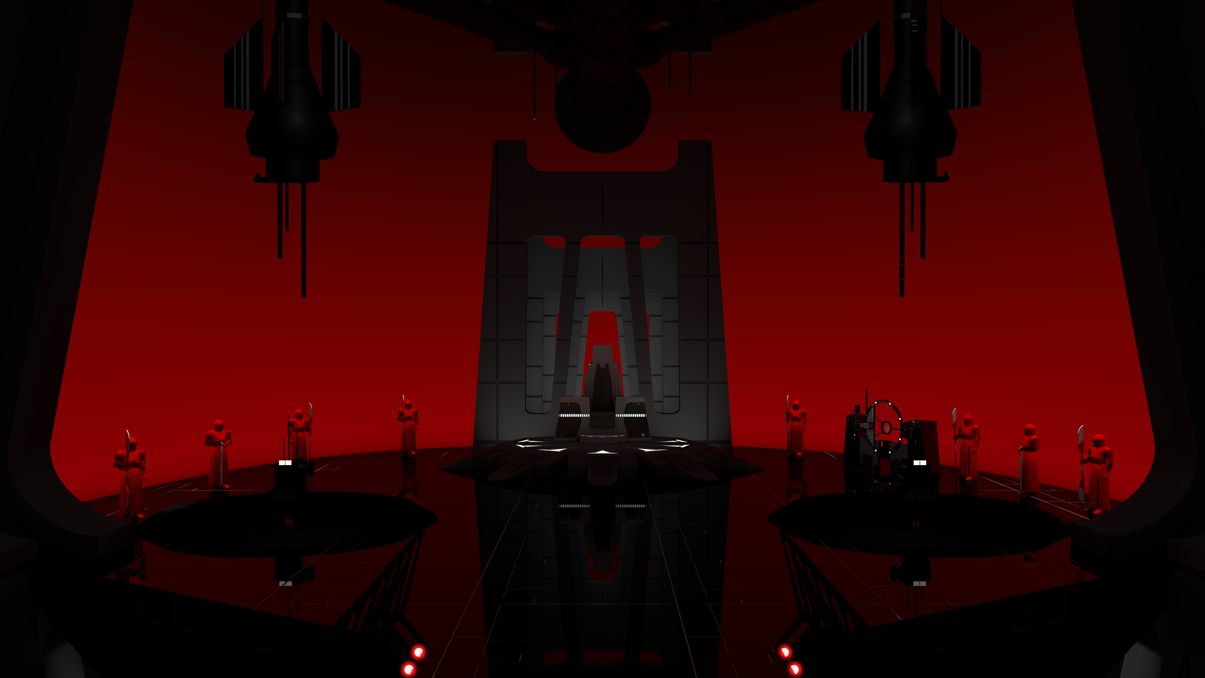 Snoke S Throne Room By T5ub4sa On Deviantart