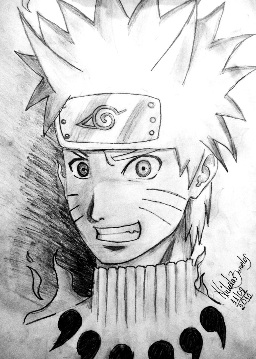 Uzumaki Naruto Bijuu mode by NicholasBar on DeviantArt