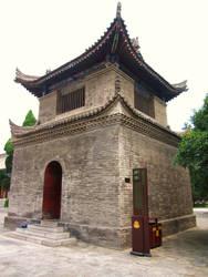 Building on Xian City Wall