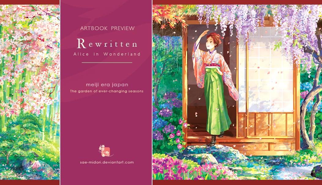 Rewritten: Alice in Wonderland Artbook -PREVIEW- by sae-midori