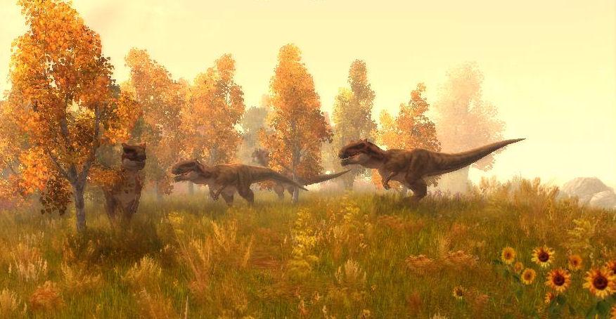 T.Rex at Reservoir by KZ-KW
