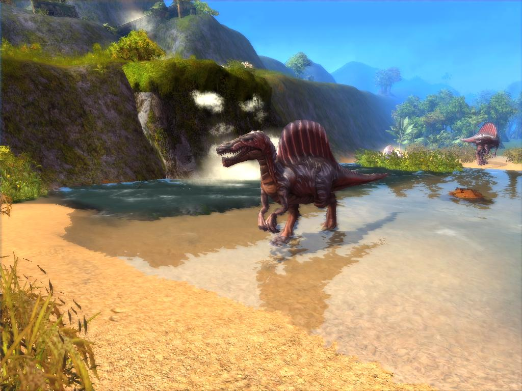 Paraworld- Spinosaurus by KZ-KW