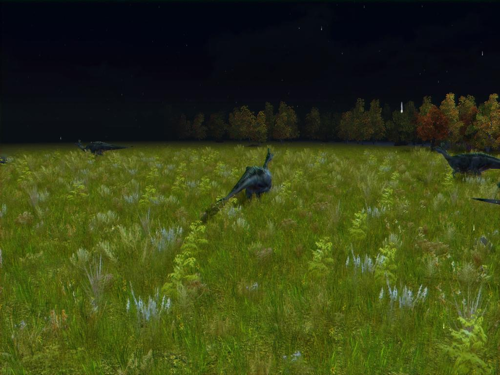 Lambeosaurus Graze by KZ-KW