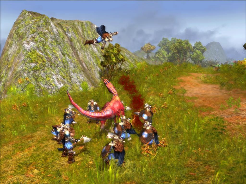 Allosaurus Fling by KZ-KW
