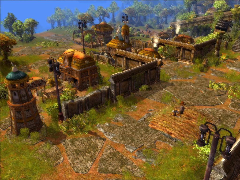 Norseman Village in Ruins by KZ-KW