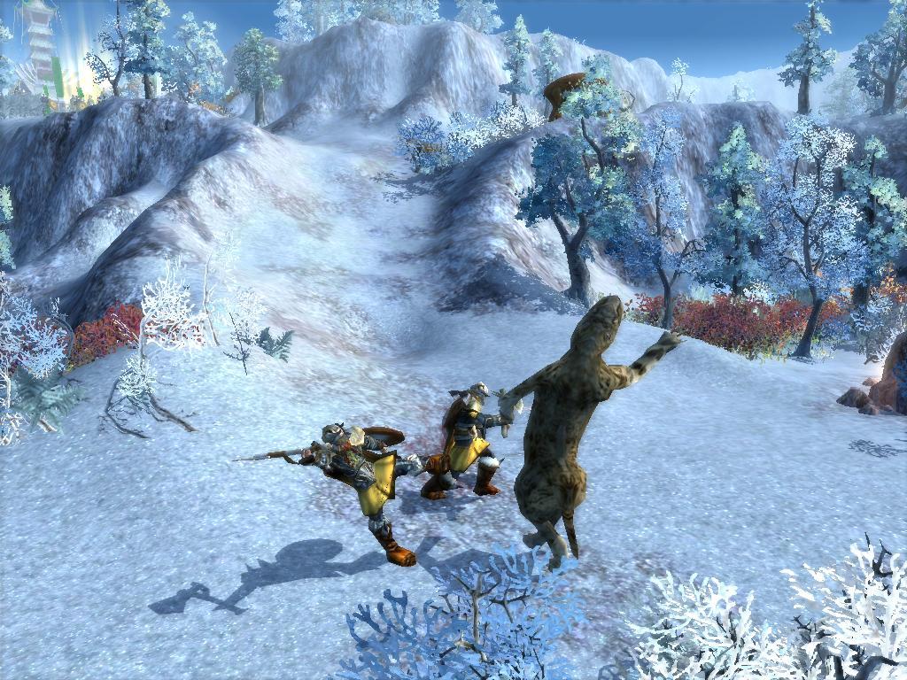 2 Warriors Vs. Smilodon by KZ-KW