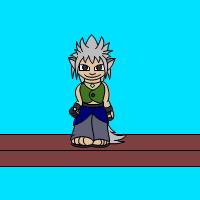 Wolfboy Jump Animation by DragynWulf