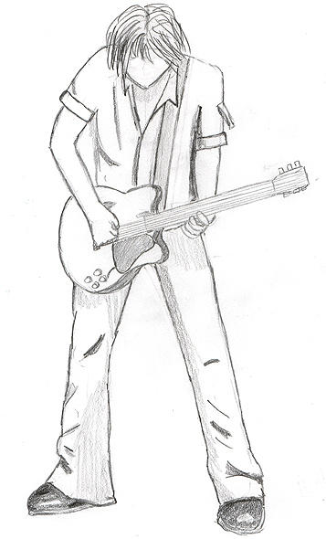 Keith Urban - sketch