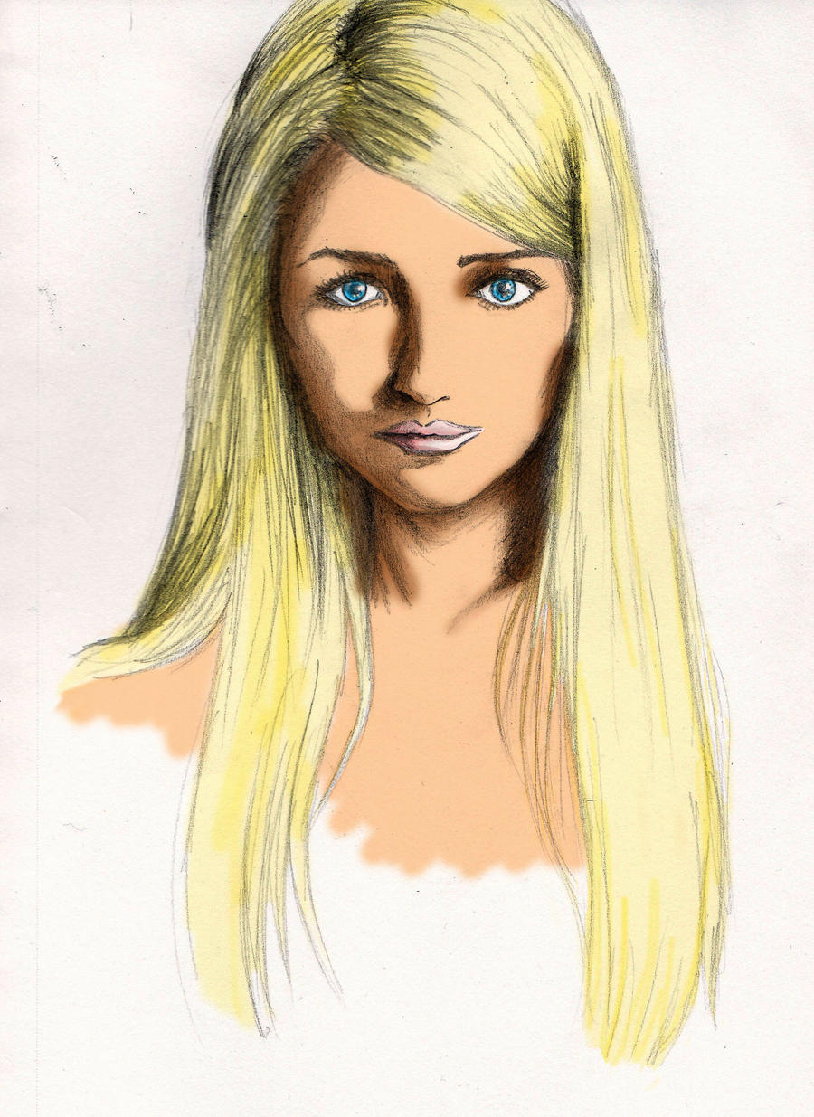 Long Blonde Hair By Kraloth On DeviantArt