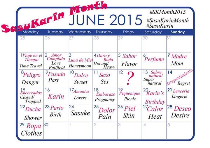 SasuKarin Month by ManaKarin