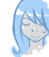 dreaming in blue by neko-Carolina
