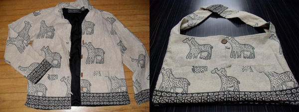 before and after giraffe