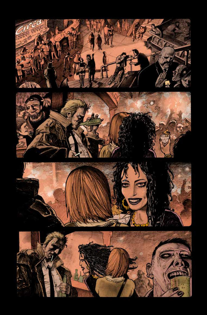 Hellblazer 259 page 5 by gammahed