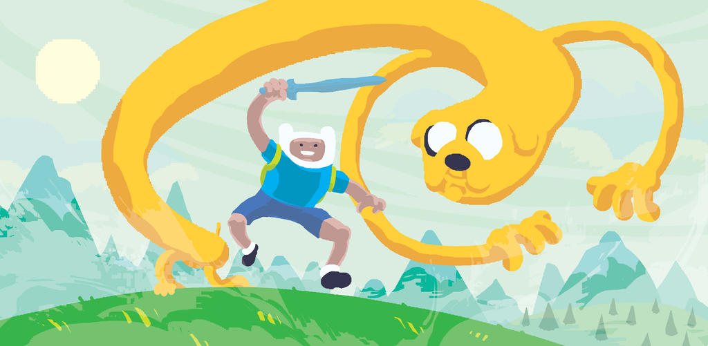 Adventuretime01 by gammahed