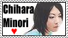 Chihara Minori love Stamp by VAlZARD