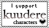I support kuudere by VAlZARD