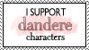 I support dandere by VAlZARD