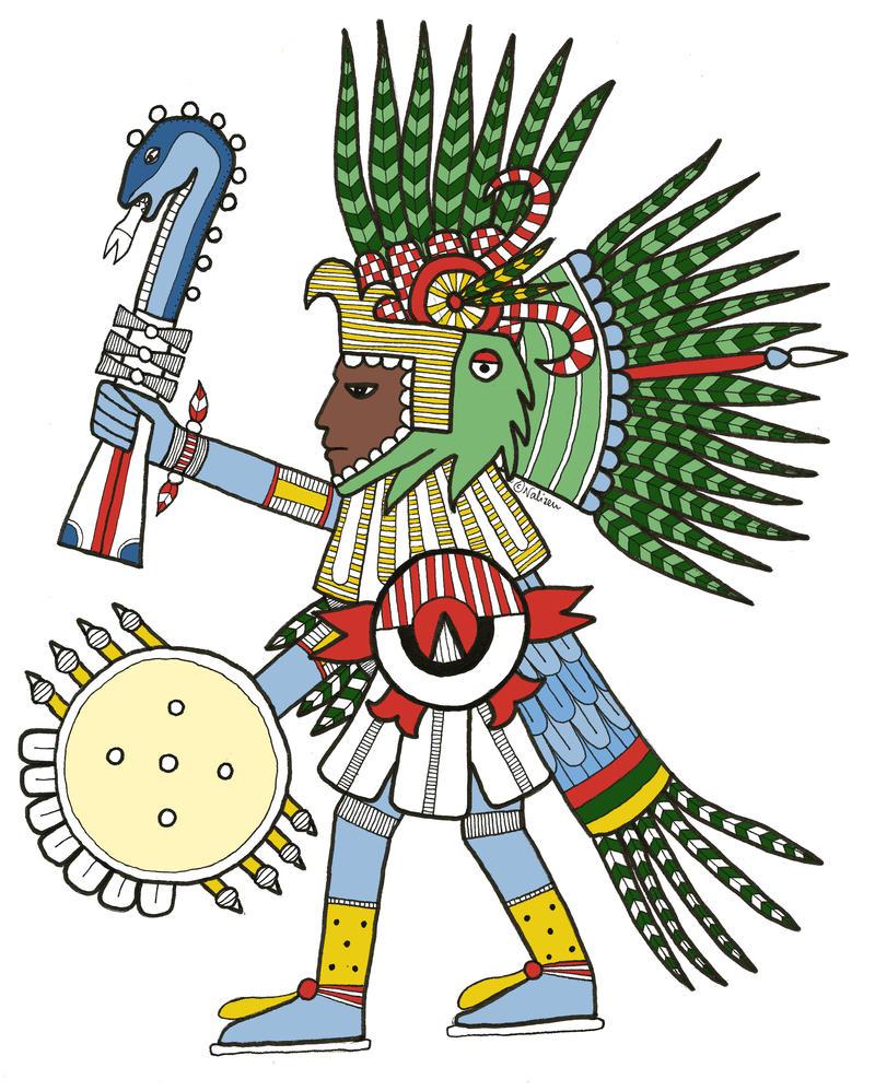 Huitzilopochtli by NaliZen