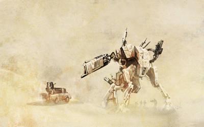 Desert Ambush by Sterfry7