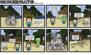 Minebrats- A Minecraft Cartoon by Slangs65