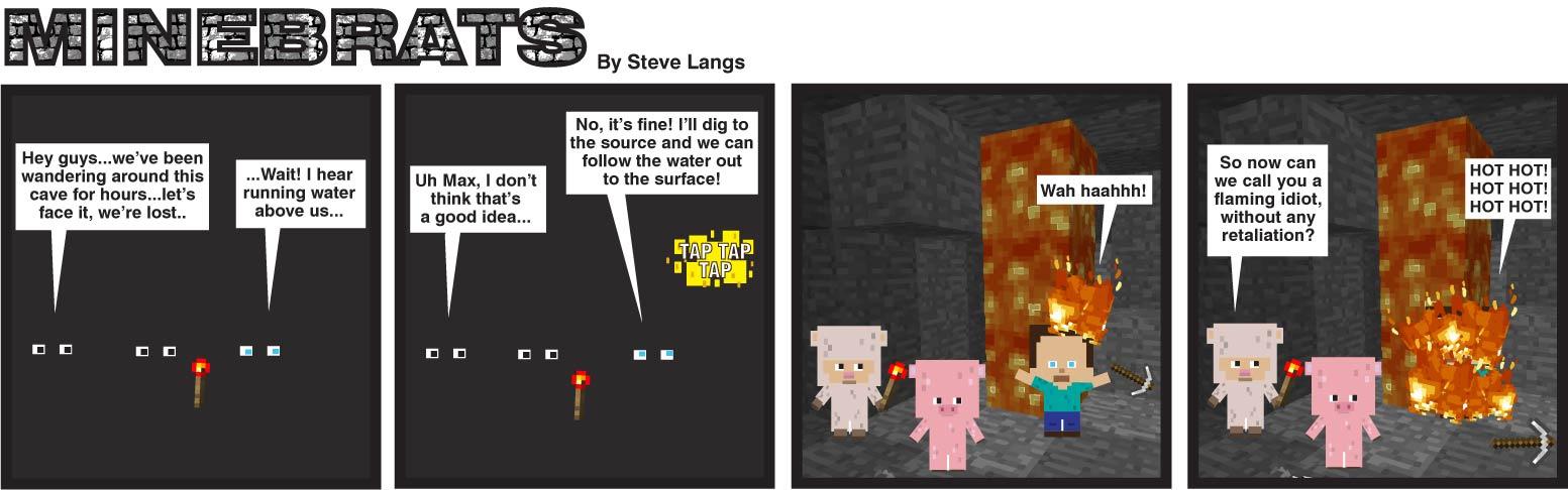 Minebrats a minecraft cartoon by slangs65
