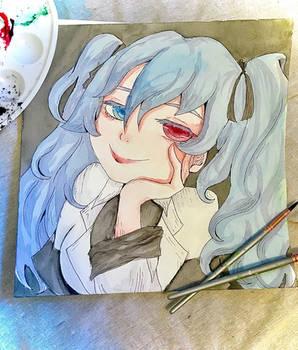 Saiko Yonebayashi Watercolor