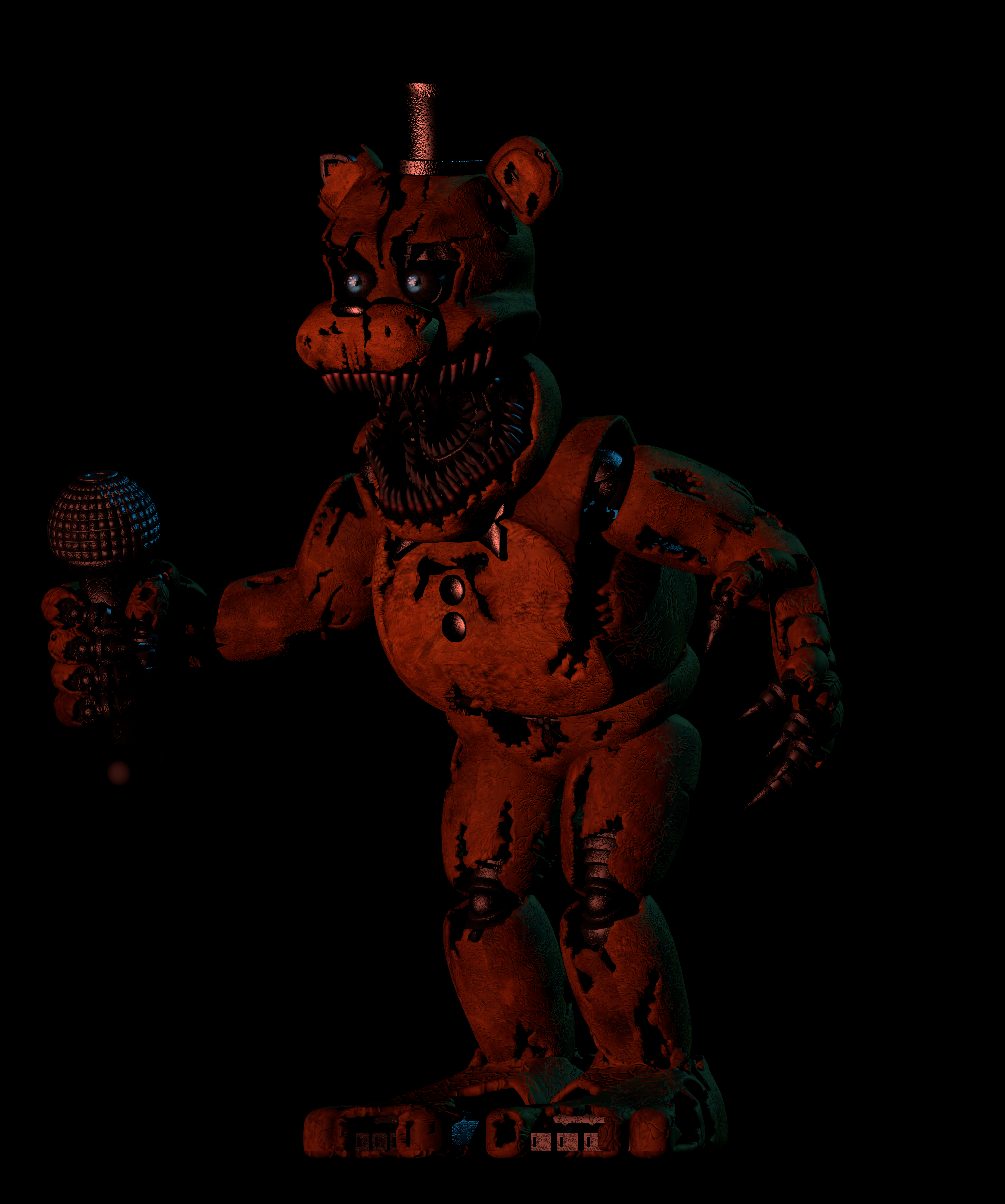 Nightmare Withered Freddy - 0425
