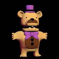 Fredbear by EndyArts