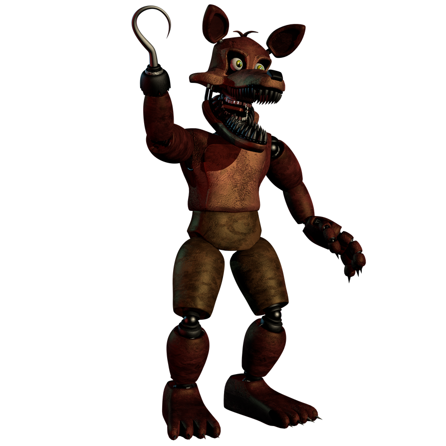 Unwithered Foxy by EndyArts on DeviantArt