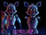 V.5 vs V.6 Funtime Foxy