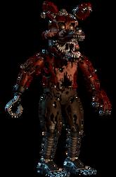 Nightmare Foxy by EndyArts