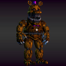 Nightmare Fredbear |Updated Post Help Wanted by EndyArts