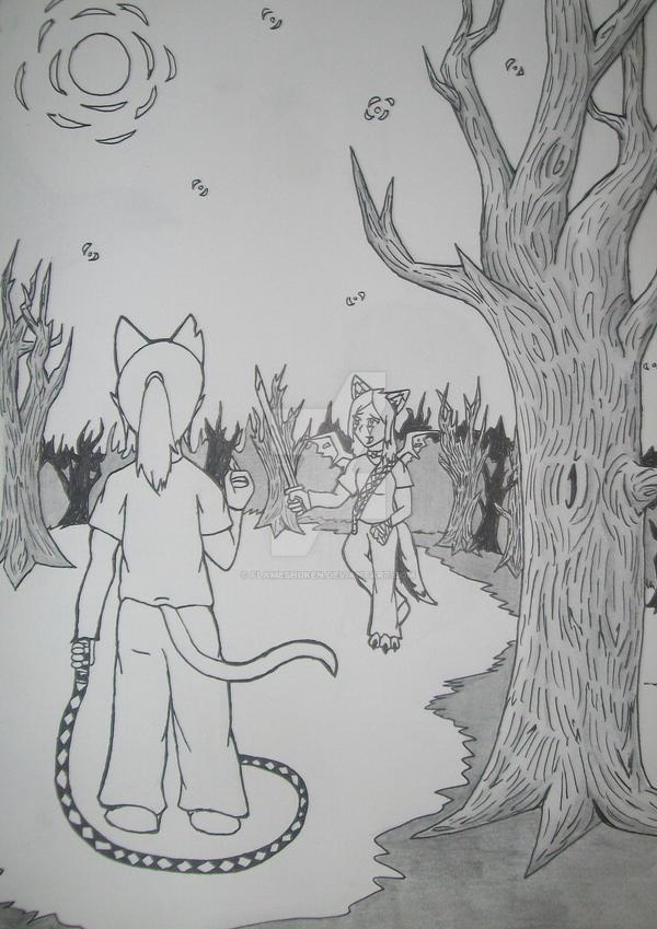 Keepyr Showdown by FlameShuken